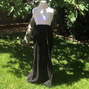 Echo Halter Swim Coverup Maxi Dress